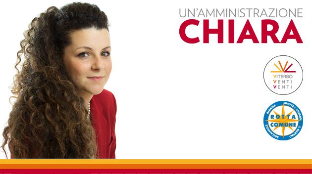 Chiara Frontini: voglio rendere giustizia alla nostra città
